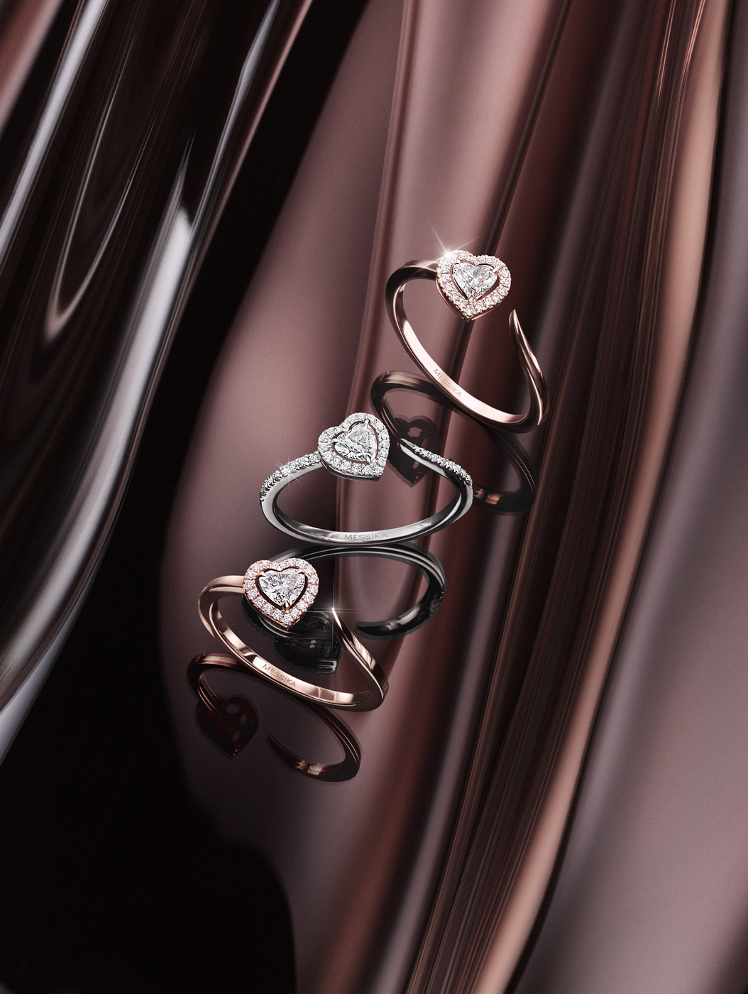 Diamond jewelry collection Joy Coeur - Messika women jewelry